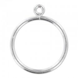 Support bague en argent 925 1 anneau ouvert taille 50