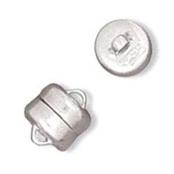 Fermoir aimanté diamètre 6 mm en Argent 925