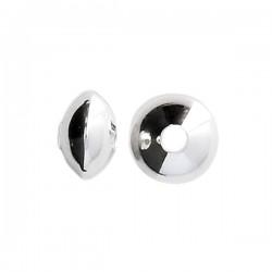 Intercalaires argent 925/000 perles rondes plates ou séparateurs