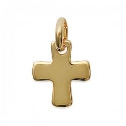 Pendentif croix Grecque en plaqué or 18 carats