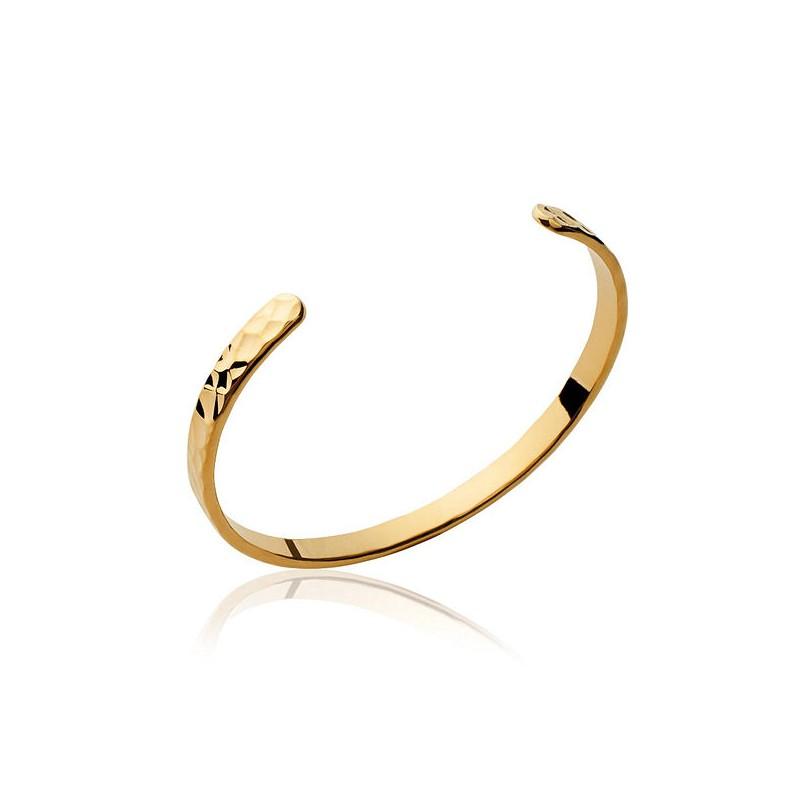 bracelet jonc en or 18 carats bijoux la mode. Black Bedroom Furniture Sets. Home Design Ideas