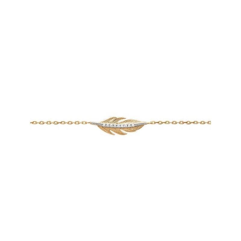 Bijoux or 18 carats bracelet