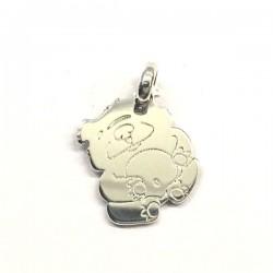 Pendentif panda argent 925/000