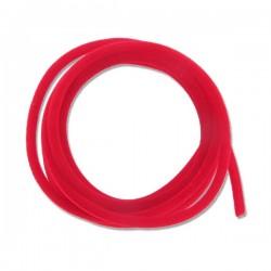 Cordon velours rouge diamètre 3 mm par 1 M pour création