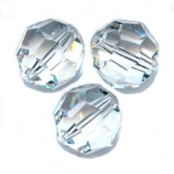 Perle ronde cristal swarovski taillé diamètre 12 mm lot de 2