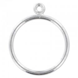 Support bague en argent 925 1 anneau ouvert taille 52