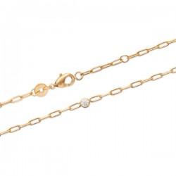 Bracelet Plaqué Or 18 carats et zirconium Bijou tendance